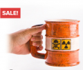 Latest Buy: Rusted Metal Oil Drum Mug Just For $9.95