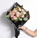 Cat & The Fiddle: Dreamy Pink (large Hand Bouquet) For S$81