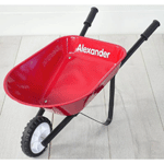 Hipkids: Kids Pink Toy Wheelbarrow-Starting From $39.95