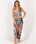 Freez: Spicy Sugar One Shoulder Dress $25