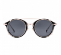 Dezzal: FONEX Punk Detachable Oval Sunglasses