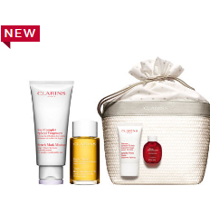 Clarins: $115 For Mother-to-be Pregnancy Body Care Set