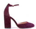 Siren Shoes: 41% Off Posey - Bordo Suede
