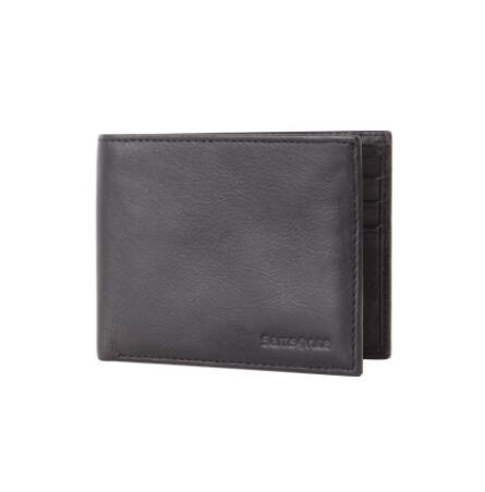 Samsonite: RFID BLOCKING LEATHER WALLETS  Slimline Wallet Just $59.95