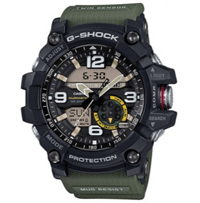 Buy Watches Online: 28% Off Casio G-Shock Black/Green Twin Sensor Mudmaster