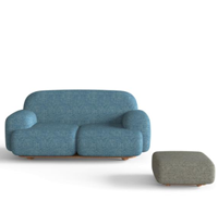 JasonL Office Furniture: 2 Person Modern Office Sofa Bun-Bun