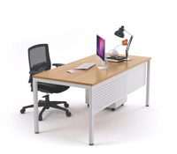 JasonL Office Furniture: Office Desk Commercial Entry Level White Square Leg Office Furniture