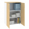 JasonL Office Furniture: Uniform 2 Door Medium Storage Cupboard