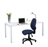 JasonL Office Furniture: Litewall - Student Home Or Office Desk White Leg