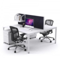 JasonL Office Furniture: 2 Person Office Workstation