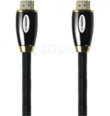 Zapals: 50% Off Braided 24K Gold Plated HDMI 2.0V Male To Male Cable