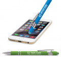 National Pen: Rainbow Alpha Soft Touch Pen With Stylus: Buy 1 Get 1 Free