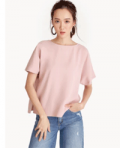 Pomelo Fashion: Oversized Side Slit Tee For A$45.99